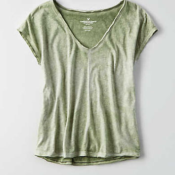AEO Voop Swing T-Shirt , Leaf Green