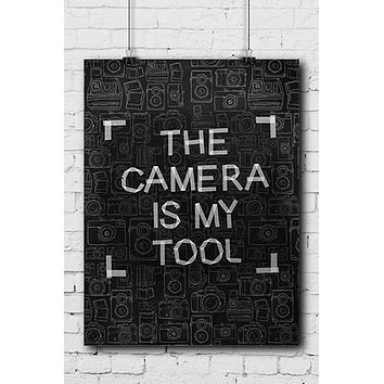 Photography Poster The Camera Tool - POSTER004