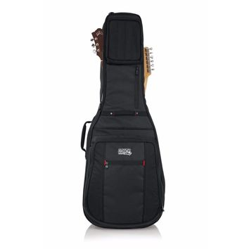 Go Series Double Guitar Bag for Acoustic & Electric Guitar