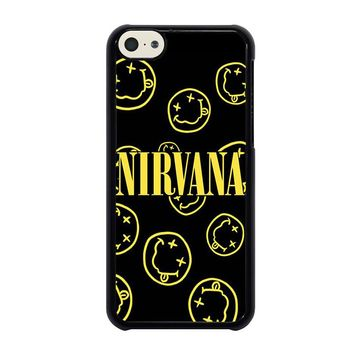 NIRVANA SMILEY COLLAGE iPhone 5C Case Cover