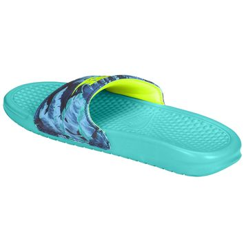 ... purchase cheap 79a17 ff203 Nike Benassi JDI Slide - Womens at Champs  Sports ... 3745591ed4