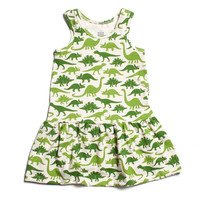 Dinosaur Dress by Winter Water Factory