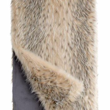 Arctic Leopard Limited Edition Throws by Fabulous Furs