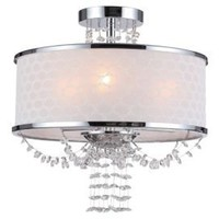 One Kings Lane - Crystorama - Gianna 3-Light Chandelier