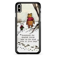 Winnie The Pooh Quote 2 iPhone X Case
