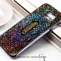 League Of Legends All Hero Mosaic Samsung Galaxy S6 and S6 Edge Case