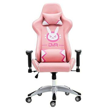PinkHolic Overwatch DVA DVA Bunny Gaming Computer Swivel Chair Pink - Sears