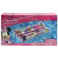 "Inflatable Raft - Disney - Minnie Mouse (19"" x 48) (Swimming Toys)"