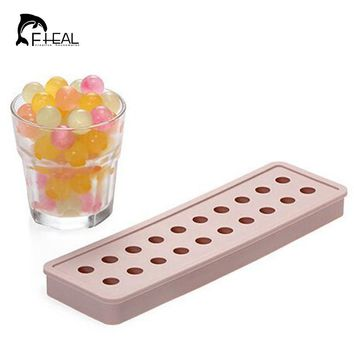 FHEAL Silicon Bar Drink Whiskey Sphere Small Round Ball Ice Brick Cube Maker Tray Mold Mould DIY Kitchen Tool Ice Cream Tools