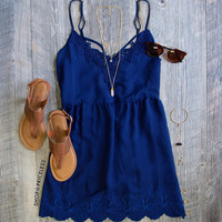 This Summer Dress - Navy