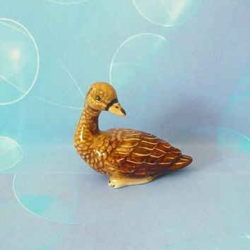 Duck figure Miniature dolls Miniature duck farm animal figurines -miniature animal figure- Terrarium miniature- Fairy garden supply
