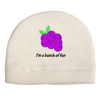 Grapes - I'm a Bunch of Fun Child Fleece Beanie Cap Hat
