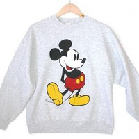 Disney Mickey Mouse Vintage 90s Sweatshirt Women's Medium/Large (M/L) $25 - The Ugly Sweater Shop