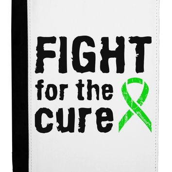 Fight for the Cure - Lime Green Ribbon Lyme Disease Ipad Mini Fold Stand  Case by TooLoud