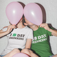 St Patricks Day Shirt, I Love Day Drinking Tshirt, St Patricks day t-shirt, Iish shirt, irish tshirts, St. Patricks day shenanigan shirt