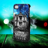 American Horror Story coven nebula galaxy- for iPhone 4/4s, iPhone 5/5S/5C, Samsung S3 i9300, Samsung S4 i9500 Hard Case *subahanalloh*