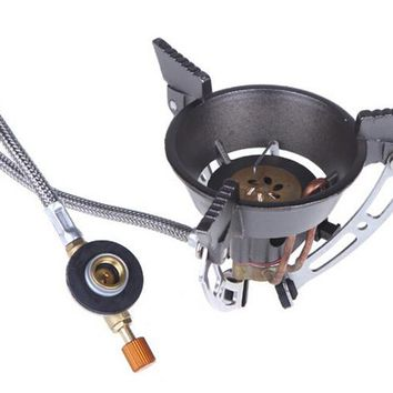Outdoor Gas Burner Camping Stove