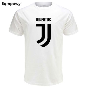 T Shirt Men'S Lastest 2018 Fashion Short Sleeve Juventus Printed T-Shirt Funny Tee Shirts Hipster O-Neck Cool Tops