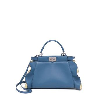 Fendi Wave Peekaboo Micro Bag