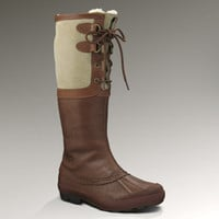 UGG® Belcloud for Women | Waterproof Leather Rain Boot at UGGAustralia.com