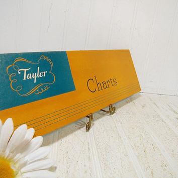 Vintage Taylor Thermometer Charts Graph Paper - Early Taylor Instruments Thermograph Charts No. 37 Set of 58 Thermograph Paper Unused in Box