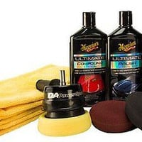 Car Care Power System Kit Cars Truck SUV Buffing Polishing Care Vehicle New