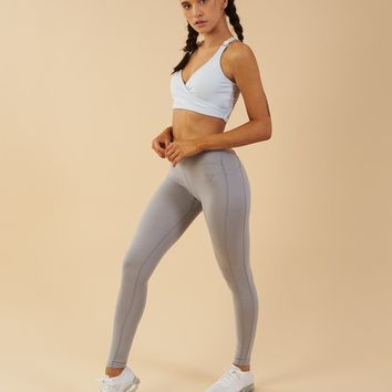 Gymshark Elite Sports Bra - Ice Blue