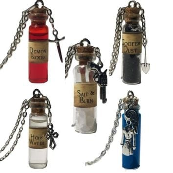 Supernatural Potion Bottle Necklace