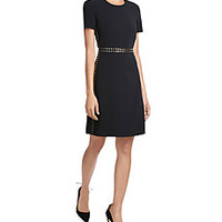 Burberry London - Stud Embellished Dress