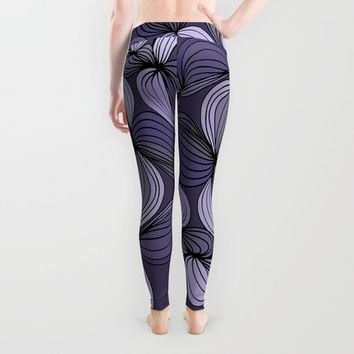 Vintage (purple) Leggings by DuckyB (Brandi)