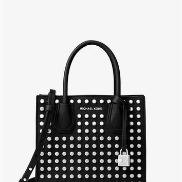Mercer Studded Leather Crossbody | Michael Kors