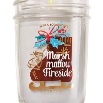 Medium Candle Marshmallow Fireside