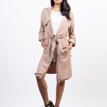 Lightweight Trench Jacket - Large