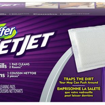 C-Swiffer Wet Rfl Clth Wet Jet Whi 4/24 Count