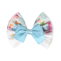 Disney Peter Pan Wendy Cosplay Hair Bow
