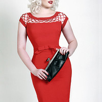 NEW: Alika Dress in Red - $144.95 : Indie, Retro, Party, Vintage, Plus Size, Convertible, Cocktail Dresses in Canada