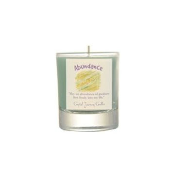 Abundance Soy Glass Votive Candle