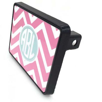 Personalized Trailer Hitch Cover - Monogram Trailer Hitch Cover