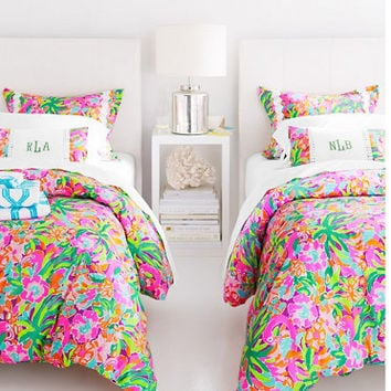 Cool Lilly Pulitzer Sister Florals Duvet From Garnet Hill Things I Uwap Interior Chair Design Uwaporg