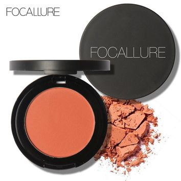 Hot Sale FOCALLURE Brand Makeup Bronzer Mineral Blush Powder Natural Beauty Makeup Cheek Blusher Contour Matte Blush Cosmetic