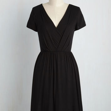 Apres la Soiree Dress in Noir | Mod Retro Vintage Dresses | ModCloth.com