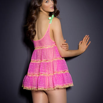 Pink by Agent Provocateur - Connie Babydoll