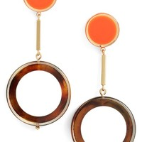 kate spade new york connect the dots drop earrings | Nordstrom