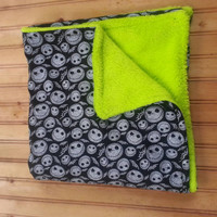 Nightmare before Christmas baby blanket