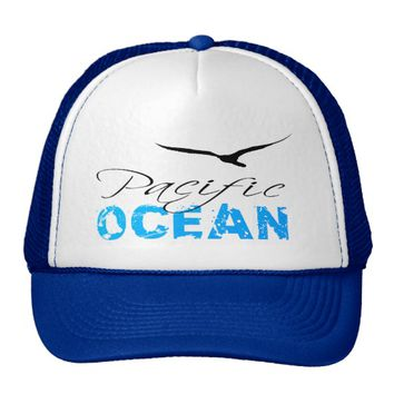 Pacific Ocean Trucker Hat
