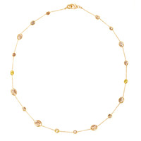 18K Gold Diamond Necklace | Moda Operandi