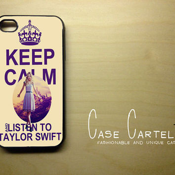 Apple iPhone 4 4G 4S Case Skin Cover Keep Calm and by CaseCartel
