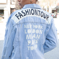 FASHION TOUR DENIM JACKET – FLYJANE