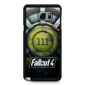Fallout 4 Vault Samsung Galaxy Note 5 Case