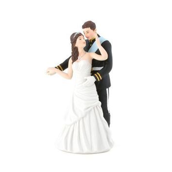 Prince and Princess Couple Figurine Cake Topper (Pack of 1)